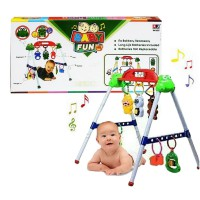 Baby Playgym Musical - Musik dan 7 Ratle - Made in Indonesia
