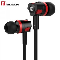 Langsdom Dynamic Super Bass Earphone dengan Mic - JM26