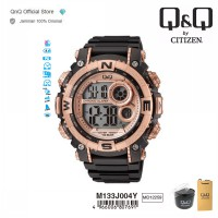 Q&Q QnQ QQ Original Jam Tangan Pria Digital  Sport Watch - M133 M133J Water Resist