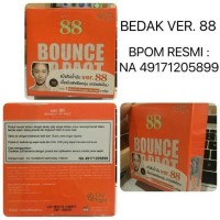 BEDAK VER 88 BOUNCE UP PACT ORIGINAL BPOM HOLOGRAM VER88