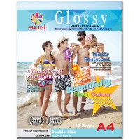 Kertas Foto A4 160 GSM Double Side - SUN Next Generation Glossy Photo Paper