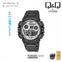Q&Q QnQ QQ Original Jam Tangan Pria Digital Sport Watch - M148 M148J Water Resist