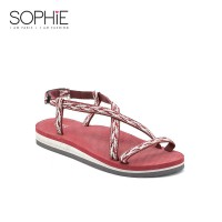 SOPHIE PARIS LAINEY EVA SANDAL RED L-F0593R1L