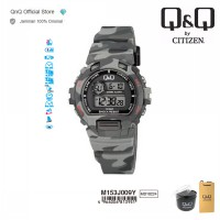 Q&Q QnQ QQ Original Jam Tangan Digital Casual Sport - M153 M153J Water Resist