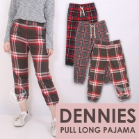 The-Fahrenheit Dennies Rubber Pull Long Pajamas