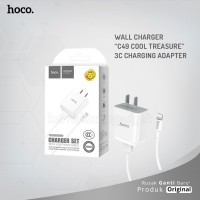 HOCO Wall charger C49 Cool treasure 3C charging adapter