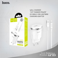 HOCO Wall charger C37 Thunder power US single USB Lightning charging adapter