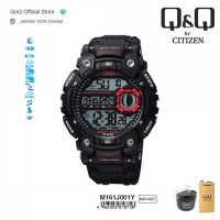 Q&Q QnQ QQ Original Jam Tangan Pria Digital Casual- M161 M161J Water Resist