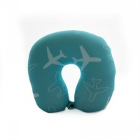 Rumauma Bantal Leher Aircaft U sharp Travel Pillow Neck Micro Foam