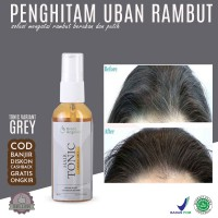 Green Angelica Hair Tonic Variant Grey Obat Uban Permanen - 60 ml