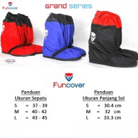 Cover Shoes GRAND FUNCOVER V.02, Jas Hujan Sepatu Premium