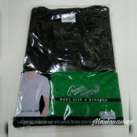 KAOS OBLONG / OBLONG CROCODILE / OBLONG / WARNA HITAM / KAOS DALAM O NECK