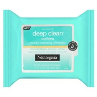 Neutrogena Deep Clean Purifying Micellar Cleansing Towellettes 25