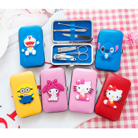 gunting kuku set hello kitty HK stitch minion totoro melody