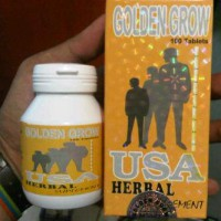 Peninggi Badan Suplemen Golden Grow Usa herbal Super Cepat