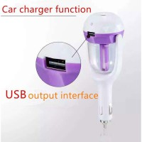 Car Humidifier With USB Charger
