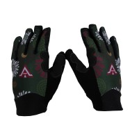 HAVIK / SARUNG TANGAN MOTOR WANITA / GLOVE CAPRINA LONG GREEN PINK / SARUNG TANGAN / GLOVE WOMAN