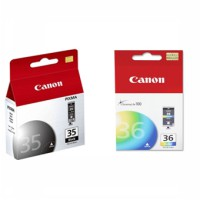 Paket Canon Cartridge PG 35 & CL 36 For IP100 / IP110