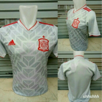 NEW JERSEY SPAIN AWAY SPANYOL AWAY GRADE ORI WORLD CUP 2018 Murah
