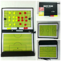 NEW PAPAN STRATEGI SEPAK BOLA/ COACH BOARD FOOTBALL Murah