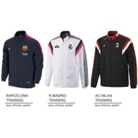 NEW JAKET BOLA MURAH SALE SEASON TAHUN LALU - madrid tn white, M Murah