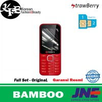 Hp murah Strawberry Bamboo - original - garansi