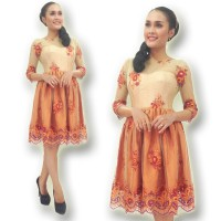 Kebaya Modern-ELV12-DRESS-09-hijau orange
