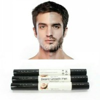 Penumbuh jenggot face beard moustache growth styling drawing liquid oil pen