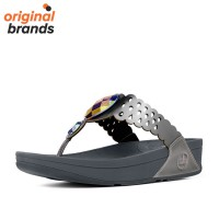 Fitflop Womens Bijoo Slippers Pewter