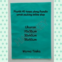 Plastik HD uk 30x40 tanpa plong/bolong untuk packing online shop