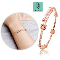 BE.JUU Gelang Thousand Times Korean Jewelry | New Brass / Rose Gold Plated