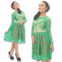Kebaya Modern-ELV20-DRESS-17-hijau