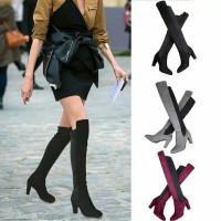 Over the knee 2 colors fashion boot