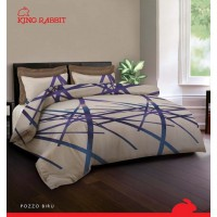 King Rabbit - Bed Cover & Seprai King Size 180x200 cm - Limited Edition November