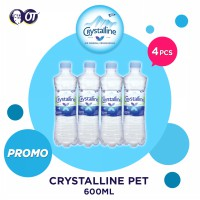 CRYSTALLINE PET 600 ML [PROMO 4 BOTOL]