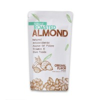 Natural Roasted Almond ( Panggang ) 250 Gr