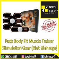 Body Fit Muscle Trainer - Stimulation Gear Alat Olahraga