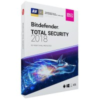 BITDEFENDER Total Security 2018 1 Year 10 PC
