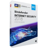 BITDEFENDER Internet Security 2018 1 Year 3 PC