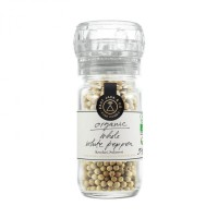 Whole White Pepper w/ Grinder - East Java Co (via Numi / Sincere)