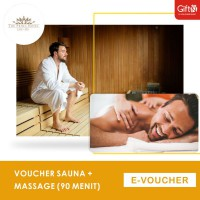 The Prima Hotel Cafe & Spa Sauna + Massage (90 menit)