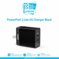 Wall Charger Anker PowerPort 2 Lite US  A2129 Black