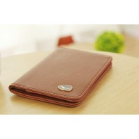 Leather Korea Passport Wallet - ZPW022