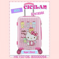 KOPER HELLO KITTY TRAVELING UK 20 IN