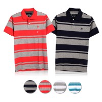 (AEROPOSTALE) Mens Short Sleeve Baju Kaos Polo Shirt / Polo Shirts Available In 4 Colors