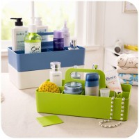 UCHII Multi Purpose Storage Box Cosmetic Organizer Stackable | Rak Kotak Penyimpanan Aksesoris Susun