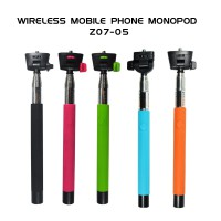 Wireless Mobile Phone Monopod for iPhone / Android Black (Tongsis)