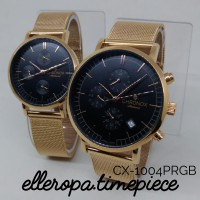 Chronox 1004 Pasir Rose Gold - Jam Tangan Couple Original