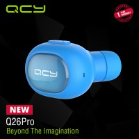 QCY Sport Bluetooth Earphone Q26 Pro Blue