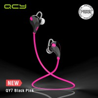 QCY Sport Bluetooth Earphone QY7 Pink